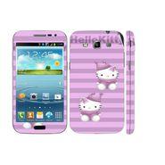 Snooky 39415 Digital Print Mobile Skin Sticker For Samsung Galaxy Grand Quattro 8552 - Purple