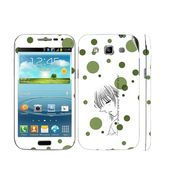 Snooky 39417 Digital Print Mobile Skin Sticker For Samsung Galaxy Grand Quattro 8552 - White