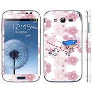 Snooky 39436 Digital Print Mobile Skin Sticker For Samsung Galaxy Grand Duos I9082 - White