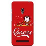 Snooky 36112 Digital Print Hard Back Case Cover For Asus Zenphone 5 - Red