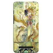 Snooky 36137 Digital Print Hard Back Case Cover For Asus Zenphone 5 - Green
