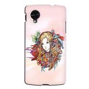 Snooky 35988 Digital Print Hard Back Case Cover For LG Google Nexus 5 - Multicolour