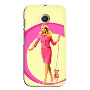 Snooky 35797 Digital Print Hard Back Case Cover For Motorola Moto E - Yellow