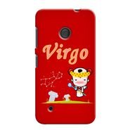 Snooky 37988 Digital Print Hard Back Case Cover For Nokia Lumia 530 - Red