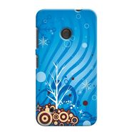 Snooky 38012 Digital Print Hard Back Case Cover For Nokia Lumia 530 - Blue