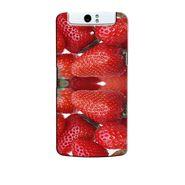 Snooky 36759 Digital Print Hard Back Case Cover For Oppo N1 - Red