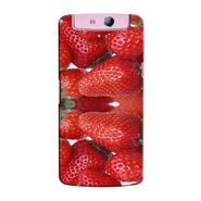 Snooky 36809 Digital Print Hard Back Case Cover For Oppo N1 Mini N5111 - Red