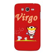 Snooky 35507 Digital Print Hard Back Case Cover For Samsung Galaxy Grand 2 - Red