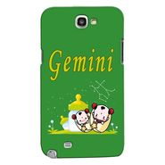 Snooky 35606 Digital Print Hard Back Case Cover For Samsung Galaxy Note 2 N7100 - Green