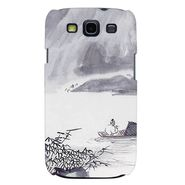 Snooky 35684 Digital Print Hard Back Case Cover For Samsung Galaxy S3 I9300 - Grey