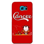 Snooky 36182 Digital Print Hard Back Case Cover For Samsung Galaxy S6 - Red