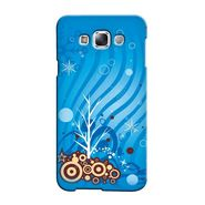 Snooky 36312 Digital Print Hard Back Case Cover For Samsung Galaxy A3 - Blue