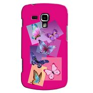 Snooky 38204 Digital Print Hard Back Case Cover For Samsung Galaxy S Duos S7562 - Pink