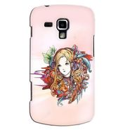 Snooky 38208 Digital Print Hard Back Case Cover For Samsung Galaxy S Duos S7562 - Multicolour