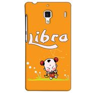Snooky 38485 Digital Print Hard Back Case Cover For Xiaomi Redmi 1S - Yellow