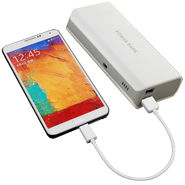 UNIC 15000mah Stylish Dual USB Portable Mobile Charger UN15K1 - White