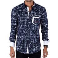 Bendiesel Printed Cotton Shirt_Bdc095 - Multicolor