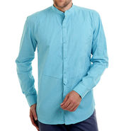 Bendiesel Plain Cotton Shirt_Bdcc021 - Light Blue