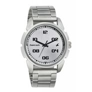 Fastrack Analog Watch_ 3124sm01 - Silver