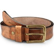 Pin Buckle Casual Belt_Rb031 - Brown