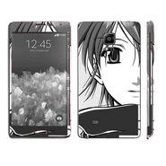Snooky 39506 Digital Print Mobile Skin Sticker For Samsung Galaxy Note EDGE - Grey