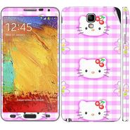 Snooky 39512 Digital Print Mobile Skin Sticker For Samsung Galaxy Note 3 Neo - Pink
