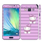 Snooky 39571 Digital Print Mobile Skin Sticker For Samsung Galaxy A5 - Purple