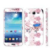 Snooky 39604 Digital Print Mobile Skin Sticker For Samsung Galaxy Mega 5.8 Gt 18281 - White
