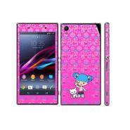Snooky 39747 Digital Print Mobile Skin Sticker For Sony Xperia Z1 - Pink