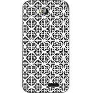 Snooky 40304 Digital Print Mobile Skin Sticker For Micromax Bolt A089 - White