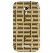 Snooky 40350 Digital Print Mobile Skin Sticker For Micromax Canvas Lite A92 - Brown