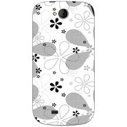 Snooky 40372 Digital Print Mobile Skin Sticker For Micromax Canvas Elanza A93 - White