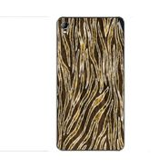 Snooky 40405 Digital Print Mobile Skin Sticker For Micromax Canvas Fire 2 A104 - Brown