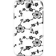 Snooky 40496 Digital Print Mobile Skin Sticker For Micromax Ninja 3.5 A54 - White