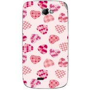 Snooky 40508 Digital Print Mobile Skin Sticker For Micromax Canvas Engage A091 - White