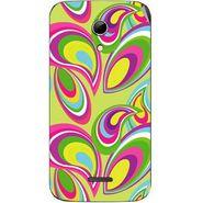 Snooky 40617 Digital Print Mobile Skin Sticker For Micromax Canvas 2.2 A114 - multicolour