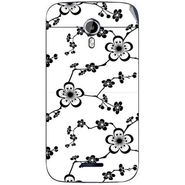 Snooky 40636 Digital Print Mobile Skin Sticker For Micromax Canvas Magnus A117 - White