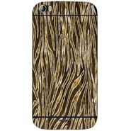 Snooky 40699 Digital Print Mobile Skin Sticker For Micromax Canvas Doodle 2 A240 - Brown