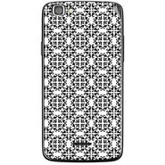 Snooky 40850 Digital Print Mobile Skin Sticker For XOLO A500S Lite - White