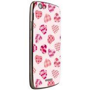 Snooky 40872 Digital Print Mobile Skin Sticker For XOLO A510S - White