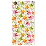 Snooky 40880 Digital Print Mobile Skin Sticker For XOLO A550S IPS - White