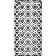 Snooky 40920 Digital Print Mobile Skin Sticker For XOLO A1010 - White