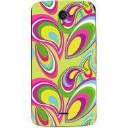 Snooky 40939 Digital Print Mobile Skin Sticker For XOLO Omega 5.0 - multicolour