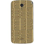 Snooky 40952 Digital Print Mobile Skin Sticker For XOLO Omega 5.5 - Brown