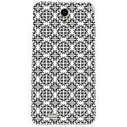 Snooky 41060 Digital Print Mobile Skin Sticker For XOLO Q900 - White