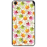 Snooky 41160 Digital Print Mobile Skin Sticker For XOLO Q2000L - White