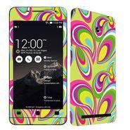 Snooky 41219 Digital Print Mobile Skin Sticker For Asus Zenfone 6 A600CG/A601CG - multicolour