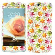 Snooky 41328 Digital Print Mobile Skin Sticker For OPPO N1 - White