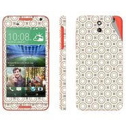 Snooky 41383 Digital Print Mobile Skin Sticker For HTC Desire 610 - Brown
