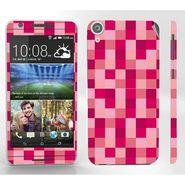 Snooky 41403 Digital Print Mobile Skin Sticker For HTC Desire 820 - Purple